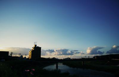 益田川の風景~有明