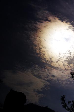 宮島の太陽