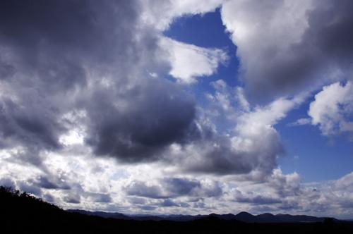 雲のようす
